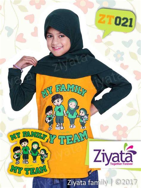 Baju Koko Anak N Bapak kaos muslim ziyata baju seragam ibu bapak anak cewe