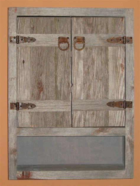 Rustic Bathroom Wall Cabinet Weathered Wood Toilet Cabinet Rustic Toilet Cabinet Rustic