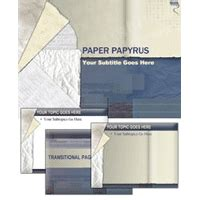 papyrus template paper papyrus powerpoint template powerpoint template