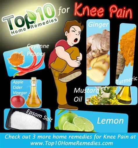 home remedies for knee top 10 home remedies