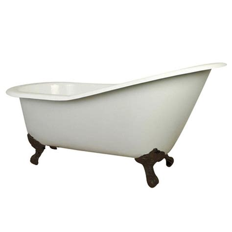 7 foot bathtub aqua eden 5 ft cast iron oil rubbed bronze claw foot