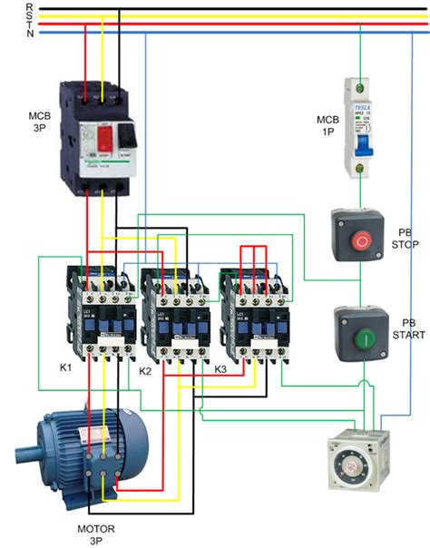 wiring diagram contactor contactor switch wiring diagram