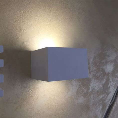 applique cubo illuminazioni led applique in gesso e ladari in offerta