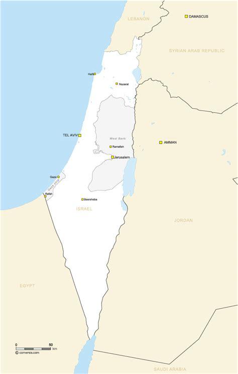 cartes israel