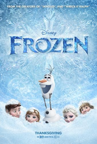 frozen movie poster family fun with disney s frozen movie review and activity