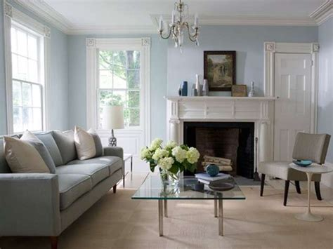 Light Blue Paint Colors For Living Room by Salas En Colores Relajantes