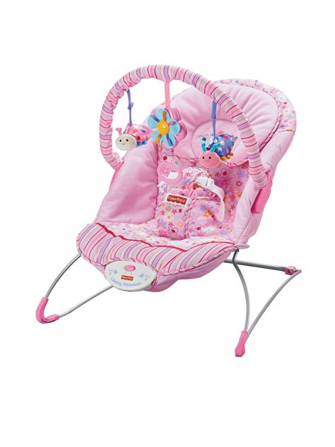 Fisher Price Pink Bouncer Chair by Fisher Price Think Pink Baby Bouncer