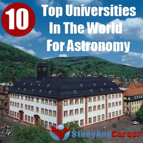 Top 10 Best Universities In The World For Mba by Top 10 Universities In The World For Astronomy Diy