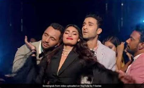 boat club tere naal nachna nawabzaade athiya shetty grooves to the tunes of badshah