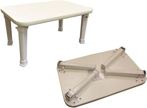 coffee table white small occasional table fold away legs