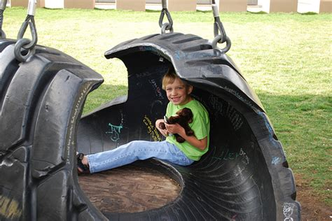 large tire swing big tire swing and riley flickr photo sharing