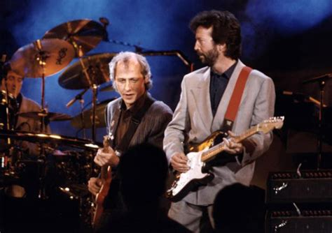 sultans of swing clapton clapton knopfler perform quot cocaine quot and quot sultans of swing