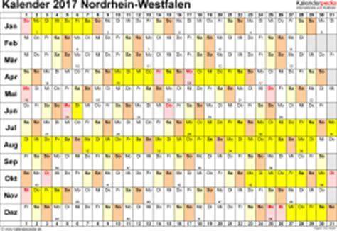 Nrw Kalender 2017 Kalender 2017 Nrw Ferien Feiertage Pdf Vorlagen