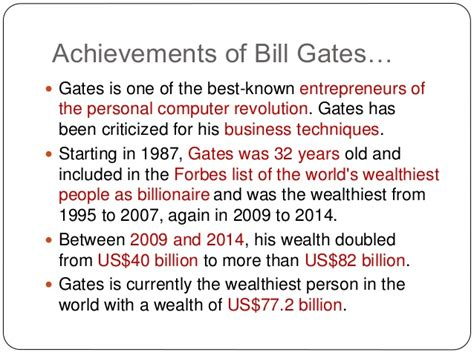 bill gates biography accomplishments biography of bill gates