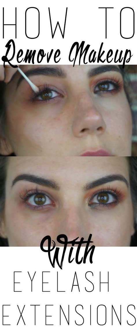 how to remove makeup with eyelash extensionsmakeup