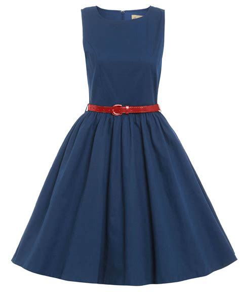audrey swing dress audrey navy swing dress vintage inspired fashion
