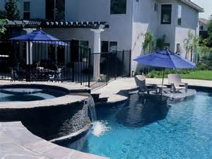 Swimming Pool Patio Designs Swimming Pool Features Hgtv
