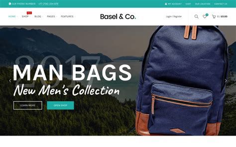 themeforest basel top 15 best wordpress ecommerce themes for online stores