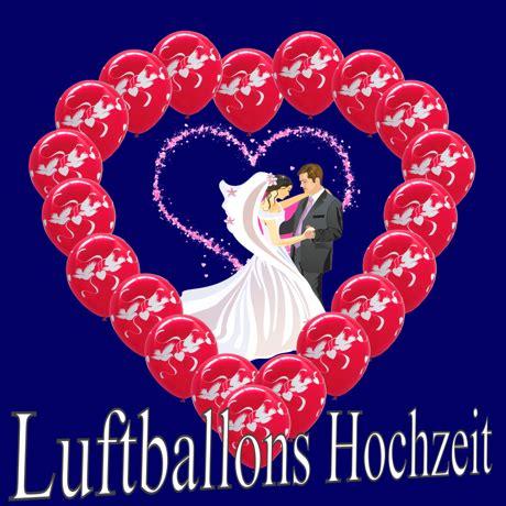 Hochzeit Luftballons by Luftballons Helium