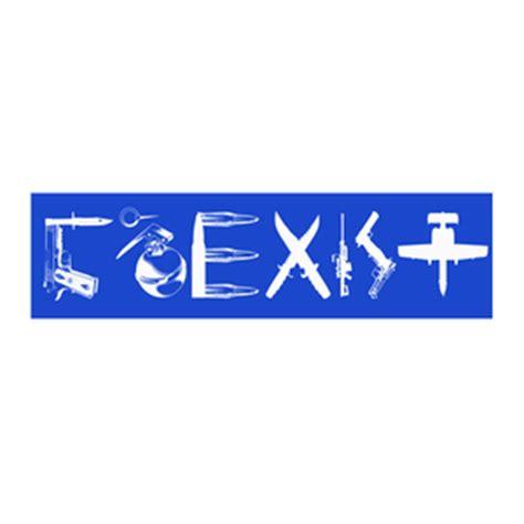 Coexist Guns Bumper Sticker