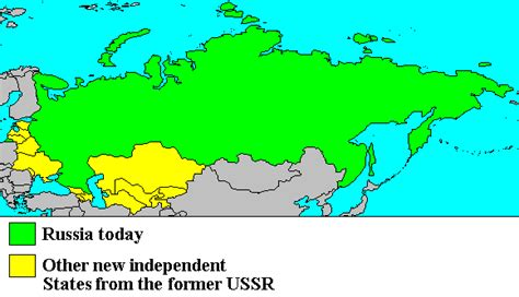 maps of ussr vs map of russia chapter 23 command economy in transition