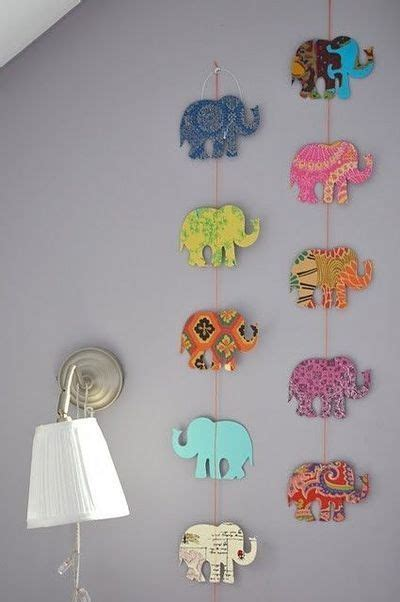 Elephant Room Decor 7 Diy Decorations To Make Summer Wall Decorations And The Elephants