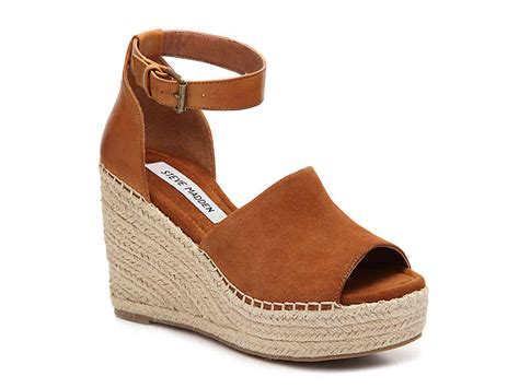 Wedged Sandals steve madden jaylen wedge sandal s shoes dsw