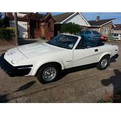 1980 TR7 CONVERTIBLE 20 WHITE RECENTLY RESTORED LOVELY