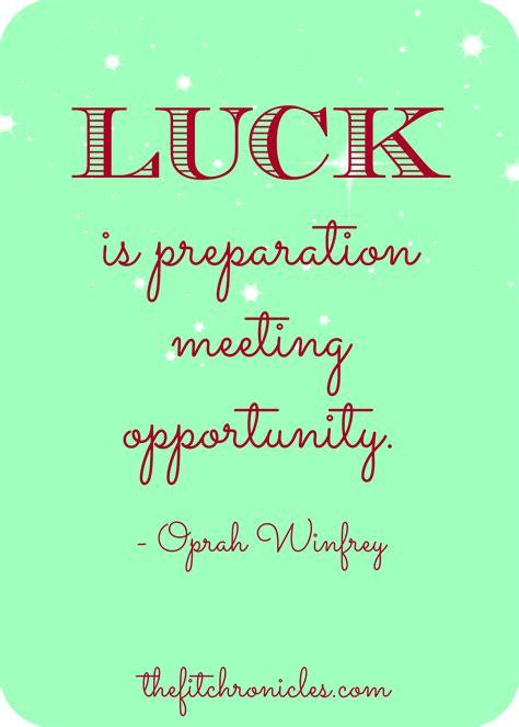 luck quotes quotesgram