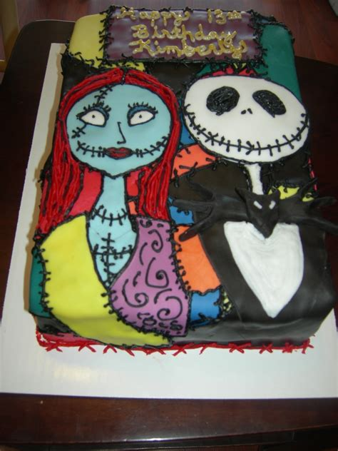nightmare before christmas cake cakecentral com