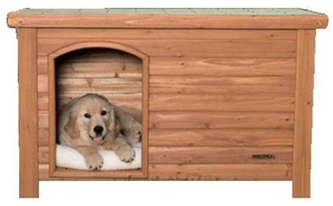 outback dog house precision pet outback log exterior dog house buy dog stuff