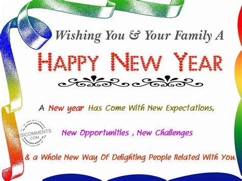 wishing   family  happy  year desicommentscom