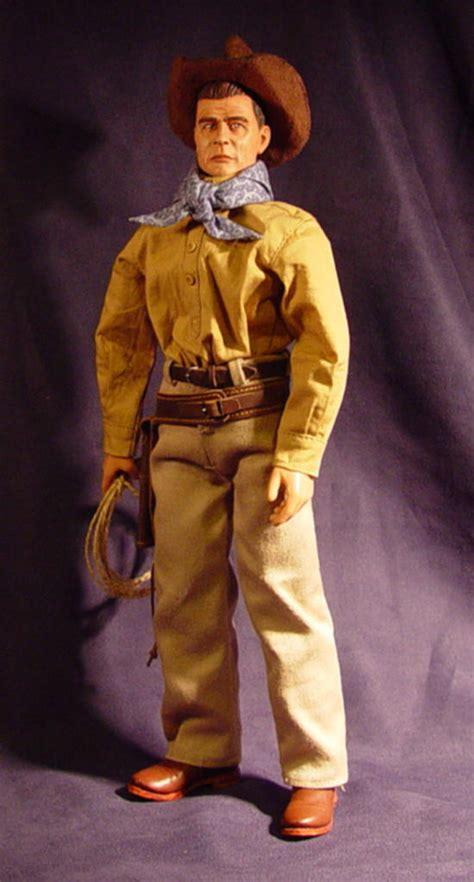 ody custom cowboy trail boss glenn ford  scale dragon  gijoe