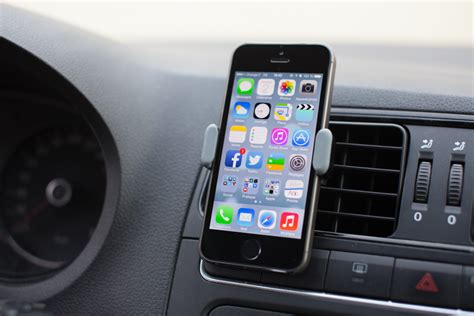 Porte Iphone 5 Voiture by Test D Un Support Voiture Pour L Iphone 5s Antoine Guilbert