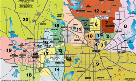 richardson texas zip code map dfw map abc apartment locators