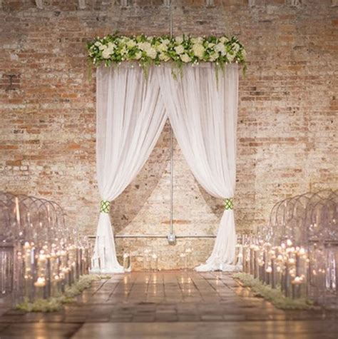 draped fabric wedding backdrop 25 best wedding ceremony backdrop ideas on pinterest