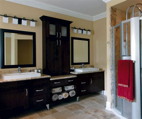 Kitchen Craft Bathroom Vanities by Kitchen Cabinets In Espresso Finish Kitchen