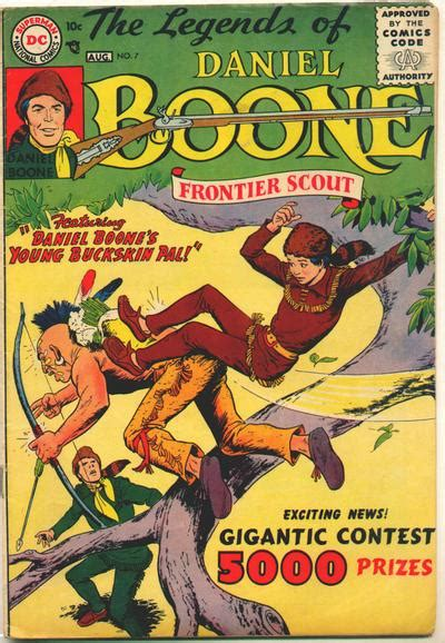 in the of the frontier volume 1 books legends of daniel boone vol 1 7 dc database fandom
