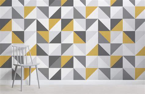 black and white geometric wallpaper uk yellow and grey abstract geometric wallpaper murals