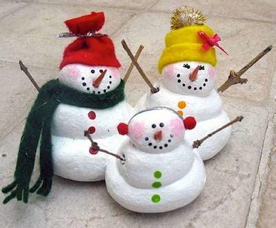 salt dough craft ideas for salt dough snowmen craft for