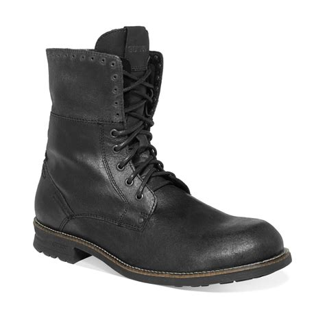 boots mens guess mens shoes differ boots in black for black