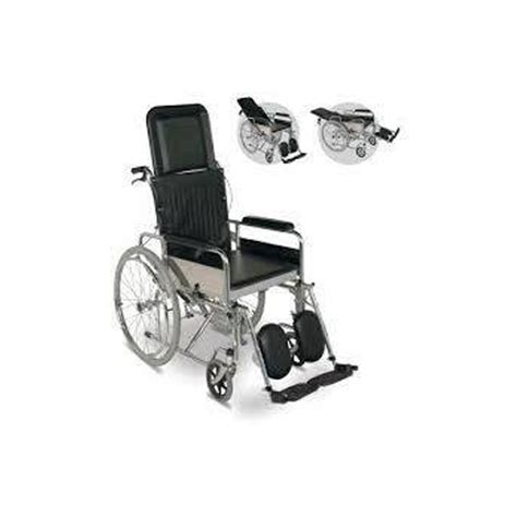 reclining commode wheelchair reclining commode wheelchair ibnsina medical