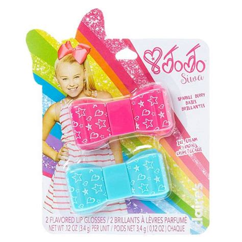 My Items From Claires 4 by Claires Jojo Siwa 2 Flavored Lip Gloss Bows Jojo