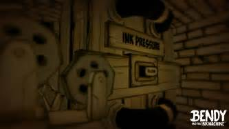 ink machine bendy and the ink machine reveal trailer pressakey