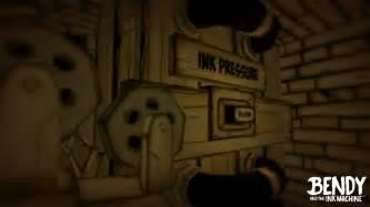 ink machine bendy and the ink machine reveal trailer pressakey