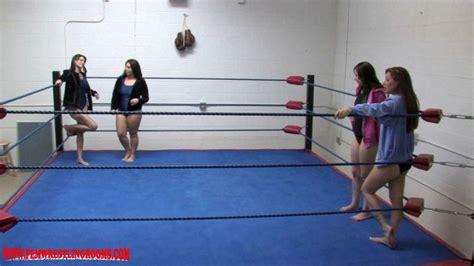 girl wrestling girl bedroom fwr pro wrestling xiv tag team match fem wrestling rooms