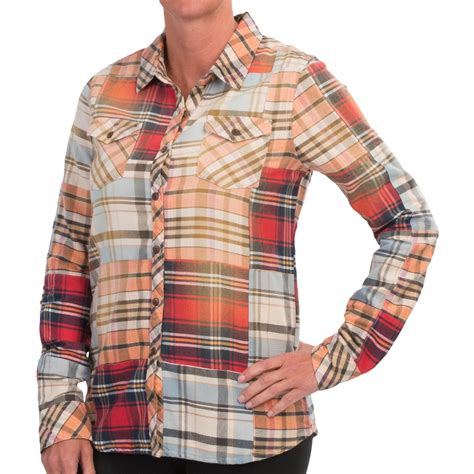 Patchwork Flannel - gramicci dolly patchwork flannel shirt for save 57
