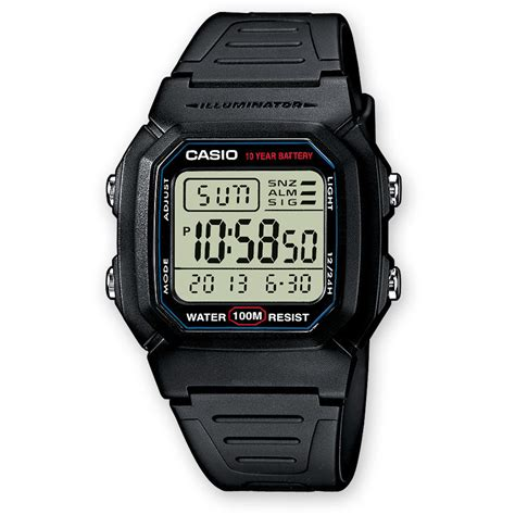 casio orologio orologio digitale uomo casio casio collection w 800h 1aves