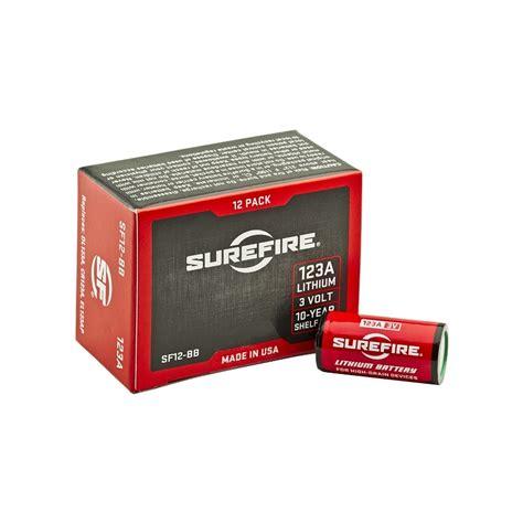 baterie surefire bateria cr123 cr123a sf123a cr 123