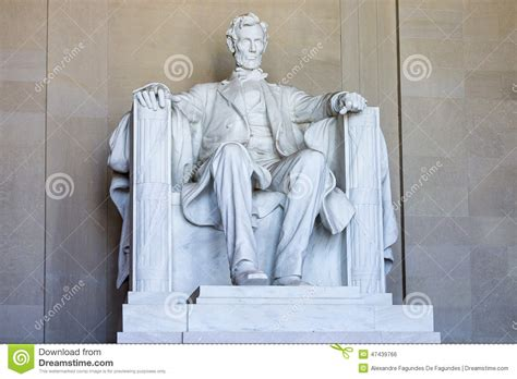 lincoln statue washington dc lincoln memorial stock photo image 47439766
